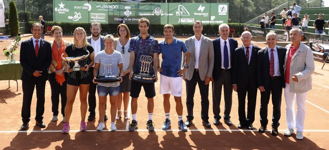Guanyadors Campionat de Catalunya de Tennis