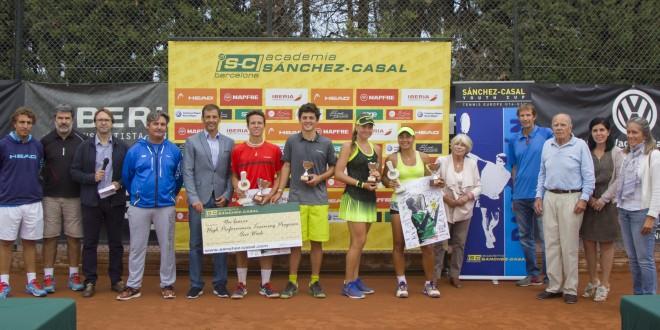 Alvaro Fernández i Daniella Medvedeva campions del Tennis Europe U16 Dani Usón In Memoriam