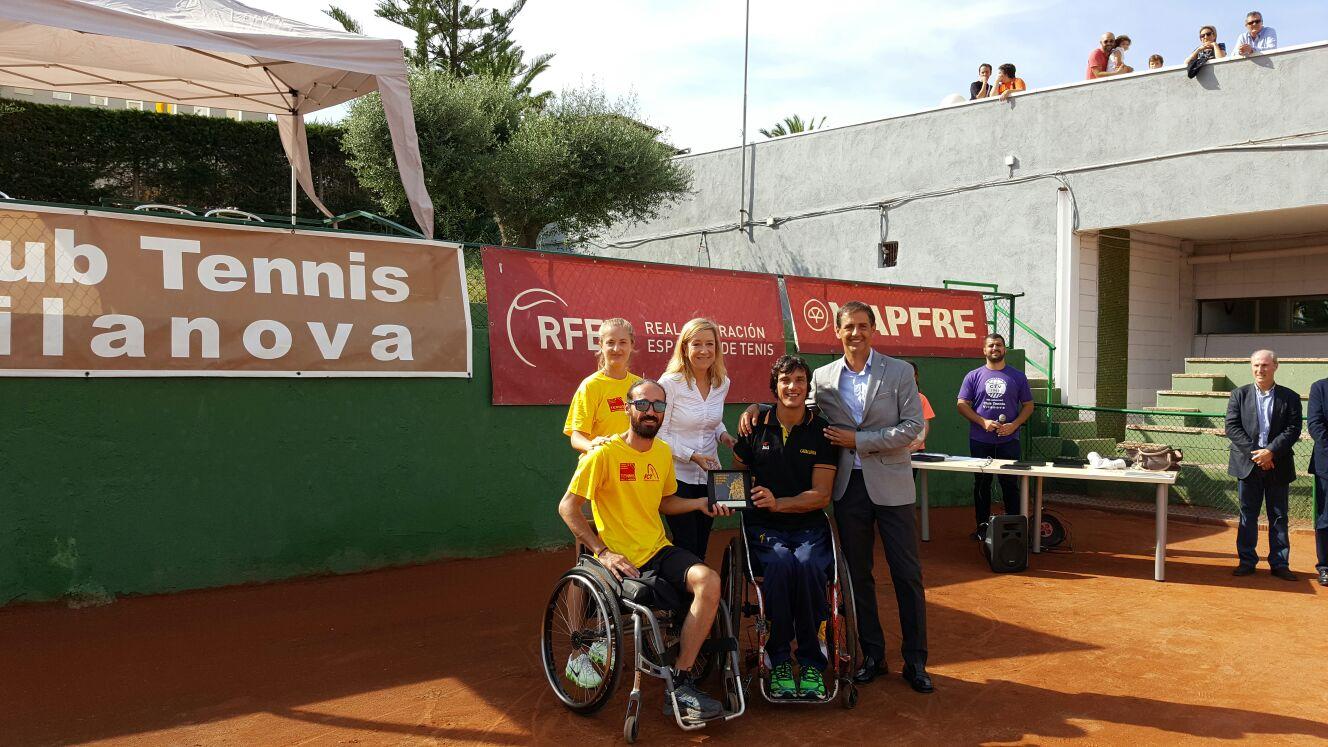 DISPUTAT CAMPIONAT D'ESPANYA DE TENNIS EN CADIRA DE RODES PER COMUNITATS