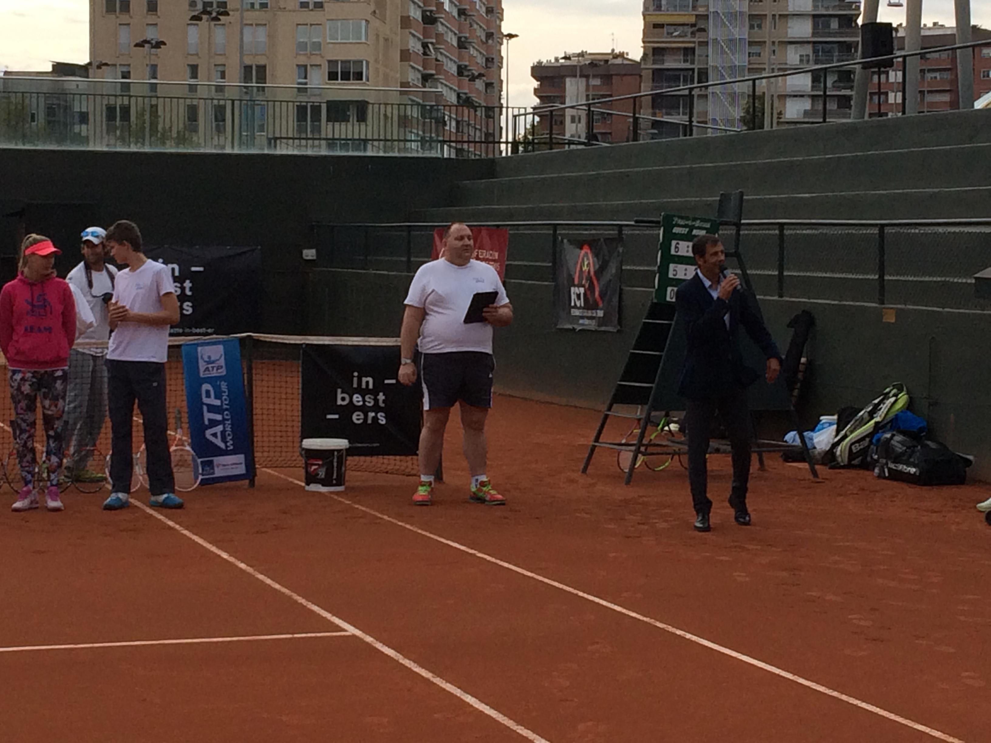 Presentada l'Escola per a discapacitats visuals de la Federació Catalana de Tennis