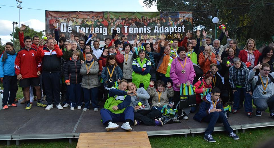 Èxit de participació en el 10è Torneig de Tennis Adaptat