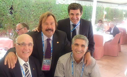 La FCT al costat de les llegendes del tennis català