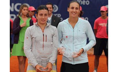 Arantxa Parra, finalista del Estoril Open
