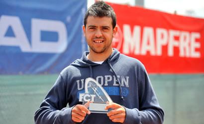 Iñigo Cervantes, campió de l'ITF futures de Lleida