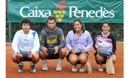Gutierrez i Rapisarda, campions a l'ITF del CT Vic.