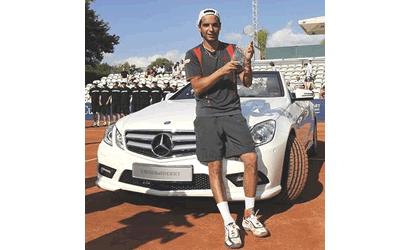 """Montañes campió de la """"Mercedes Cup"""""""