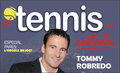 """Primer número de la revista """"El Tennis en català"""""""