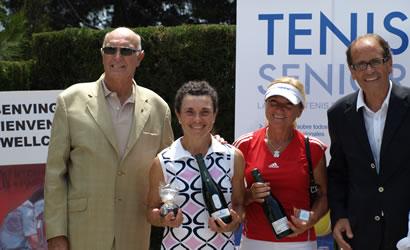 """Èxit dels tennistes catalans als XIV Internacionals d'Espanya de Veterans """"Memorial Simón Mateo"""""""