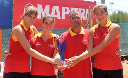 L'equip espanyol subcampió de la Copa de la Reina
