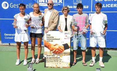 Finalistes Joan Mir 2010.