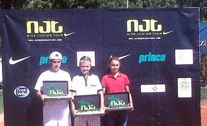 Finalistes catalans del Masters Nike Junior Tour 2010