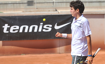 """Pol Toledo, lider del """"Race Tennis Europe Junior Tour"""""""