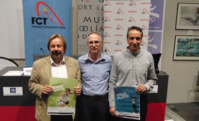 Presentació Ciutat de Barcelona de Tennis Platja 2010