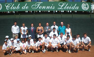Etrega premis ITF Women's Lleida 2010.