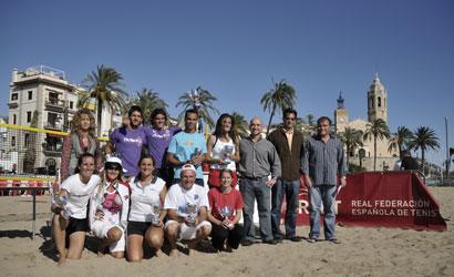 Campions d'Espanya de Tennis Platja 2010.