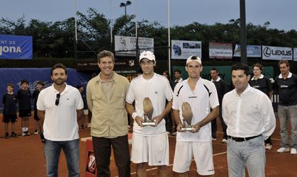G.Olaso i P.Riba Campions de dobles.