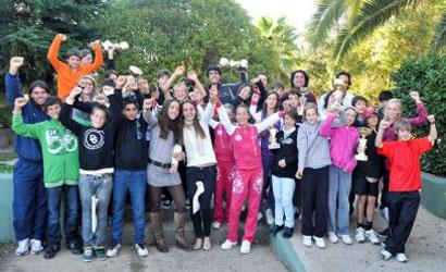 Participants a la Copa Transpirineus.