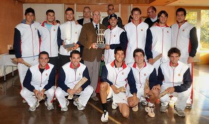 Equip del RCT Barcelona-1899, campió del 2009.