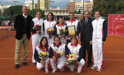 RCT Barcelona-1899, Campió d'Espanya Femení 2010.