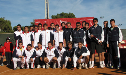 Finalistes del Campionat d'Espanya per Equips Masculins.