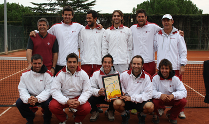 Equip del Cercle Sabadellès-1856, Campio dEspanya B 2010.