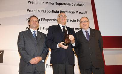 Andreu Gimeno, Premi Llegendari de la UFEC 2010.