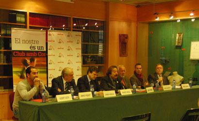 Presentació de la Campanya Nadal 2010 Clubs amb Cor.