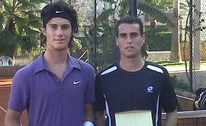 Javi Martí i Pedro Clar, campió i finalista de l'ITF Futures del CT Ca'n Simó.