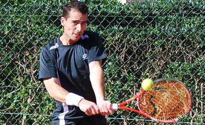 Pedro Clar, finalista a l'ITF Futures Mallorca-2.