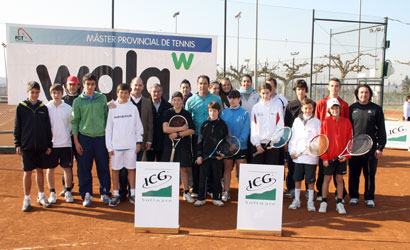 Participants al clinic de l'Albert Costa al CT Urgell.