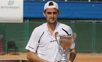 Guillermo Olaso, campió de l'ITF del CT Murcia 2011.