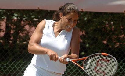 Estrella Cabeza, campiona del II Internacionales Club de campo-FTM.