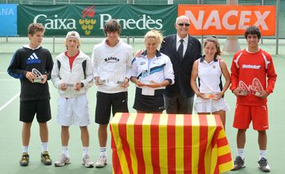 Foto de familia dels finalistes del Campionat de Catalunya Cadet 2011.