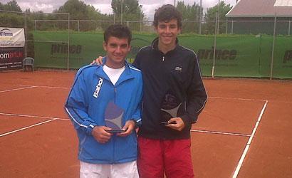 Eduard Esteva, campió i Oriol Roca, finalista.