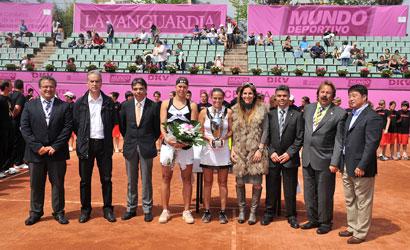 Entrega de premis del Barcelona Ladies Open.