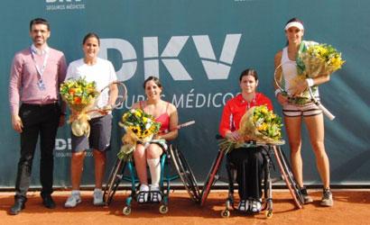 Elena Jacinto (Esquerre), subcampiona i Lola Ocho, campiona.