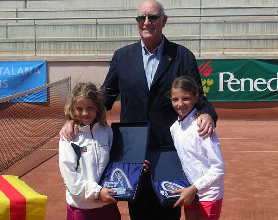 Ares Teixidó, sots-campiona de Catalunya benjamí de 2011