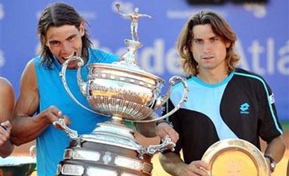 Rafa Nadal, campió i avid Ferrer, finalista del Barcelona Open Banc Sabadell 2011
