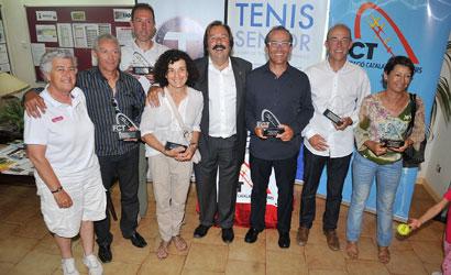 """Participants al Campionat de Catalunya Sènior """"5""""."""