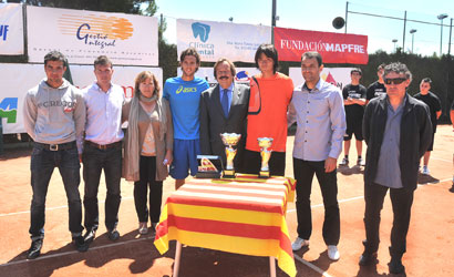 Joao Sousa, campió de l'ITF Trofeu Ciutat de Balaguer.
