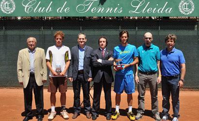 Sousa, campió i Carballés, finalista del ITF Futures del CT Lleida.