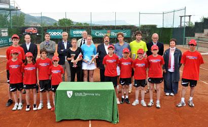 Finalistes dels ITF del CT Vic.