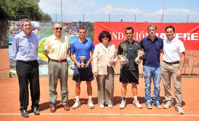 Nacho Coll, campió i David Estruch, finalista de l'ITF Futures de Valldoreix.