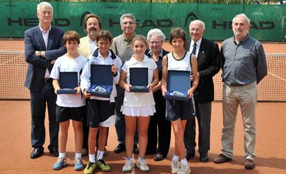 Finalistes del Campionat de Catalunya Aleví 2011.