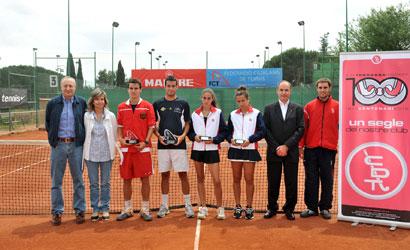 Entrega de premis del Campionat de Catalunya de segones 2011.
