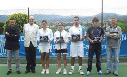 Ignasi Vila i Gisela Font, Campions de Catalunya de Terceres 2011.
