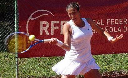 Garbiñe Muguruza, campiona de l'ITF Women's de Montemor-o-Novo.