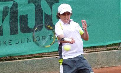 Marc Roura, campió alevi del Nike Júnior Tour de Marbella.