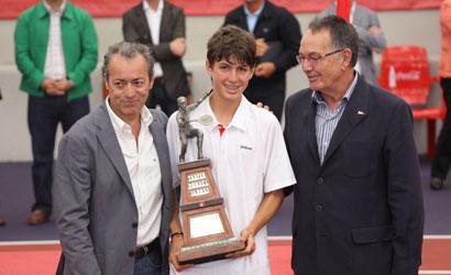 Alvaro López San Martin, Campió d'Espanya Infantil 2011