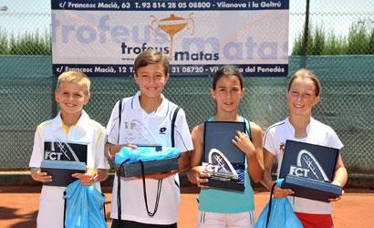 Finalistes del Campionat de Catlunya Sub-11.